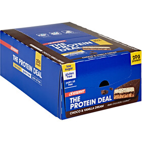 Enervit Protein Deal Bar Box 25 x 55g, Choco Vanilla